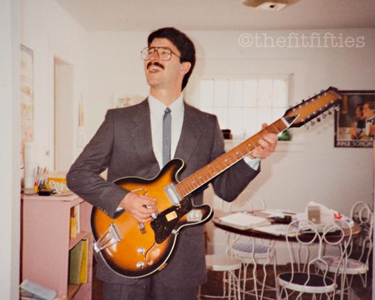 Guitar geek.